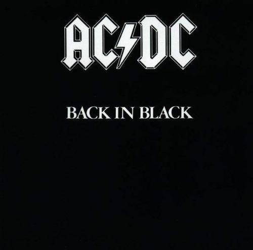 AC/DC - Back in Black - Released in 1980