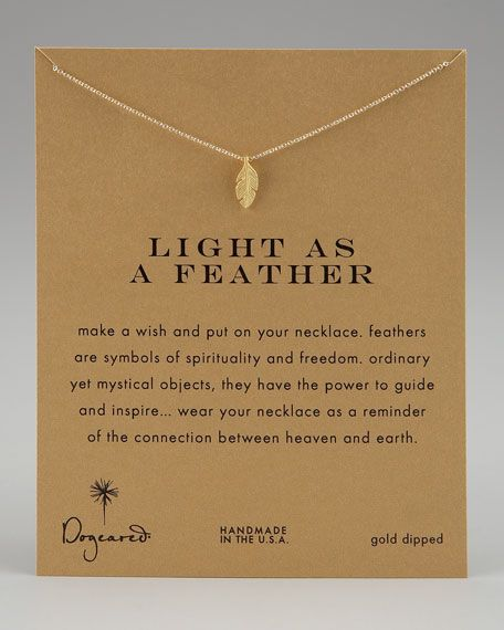 I love these simple necklaces by Dogeared. They Come in so many different styles & designs it's hard to choose.