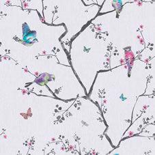 £10. Wilko Fresco Mai Grey wallpaper.