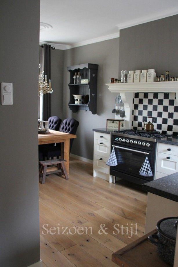 Meer dan 1000 idee n over muur gordijnen op pinterest donkere beddengoed bruin beddengoed en - Kleur muur wc ...