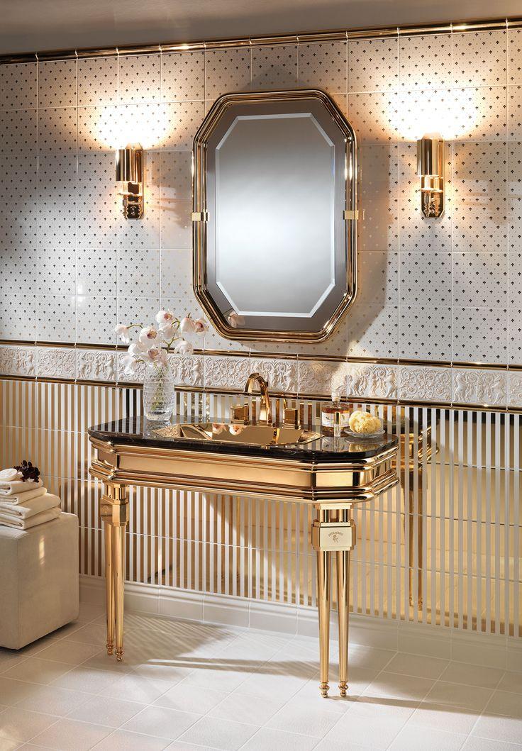 Opera Prima console basin from Petracer #bathroominspiration