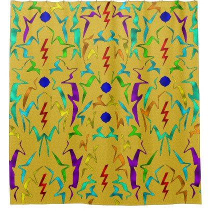 teal and gold shower curtain. Confetti Gold Shower Curtain  shower gifts diy customize creative The 25 best curtain ideas on Pinterest