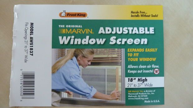 adjustable window screen for my apt