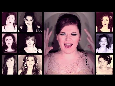 """One Woman A Cappella Adele '21' Medley"" SHE ALSO DOES ONE WOMAN DISNEY MEDLEYS AND THEY ARE AMAZING."