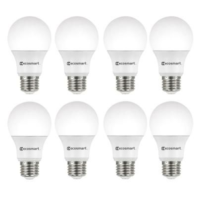 60 Watt Equivalent A19 Non Dimmable Cec Led Light Bulb Daylight 8 Pack Dimmable Led Lights Light Bulb Bulb