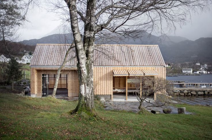 Naust V. Vikebygd, Norway/ KOREO ARKITEKTER, KOLAB ARKITEKTER
