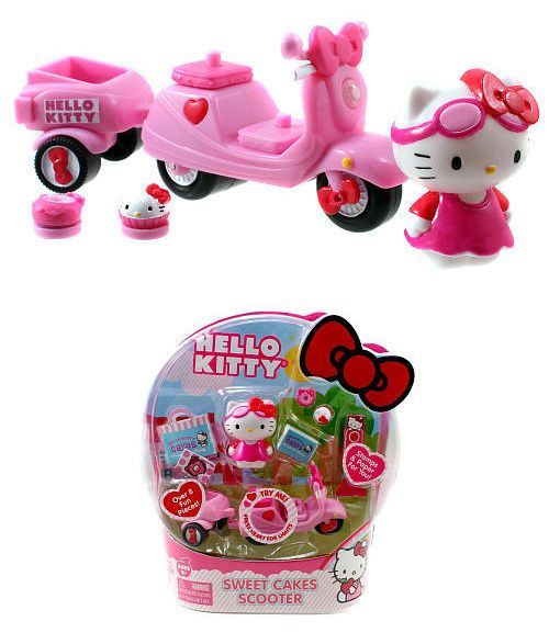 Hello Kitty Toys For Cakes : Best images about scooter cake on pinterest