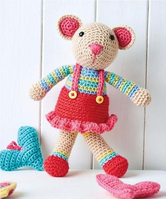 Ravelry: Mitty mouse pattern by Janine Holmes