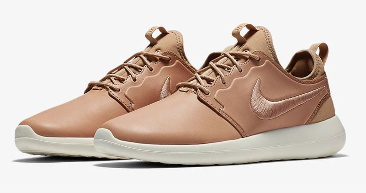 The Nike Roshe Two Leather In Vachetta Tan Releases Tomorrow