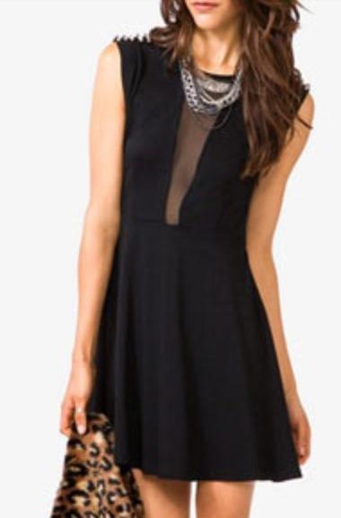 Edgy dress