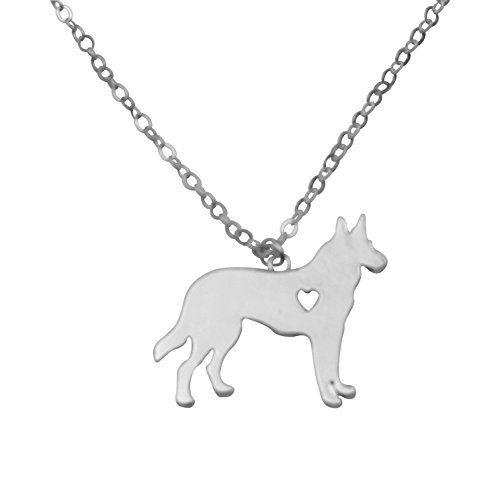 Silvertone I Love My Dog Lover Heart Outline German Shepherd Pet Puppy Rescue Pendant Necklace, http://www.amazon.com/dp/B01FYEHMD4/ref=cm_sw_r_pi_awdm_x_e7d.xb8RXG9KN