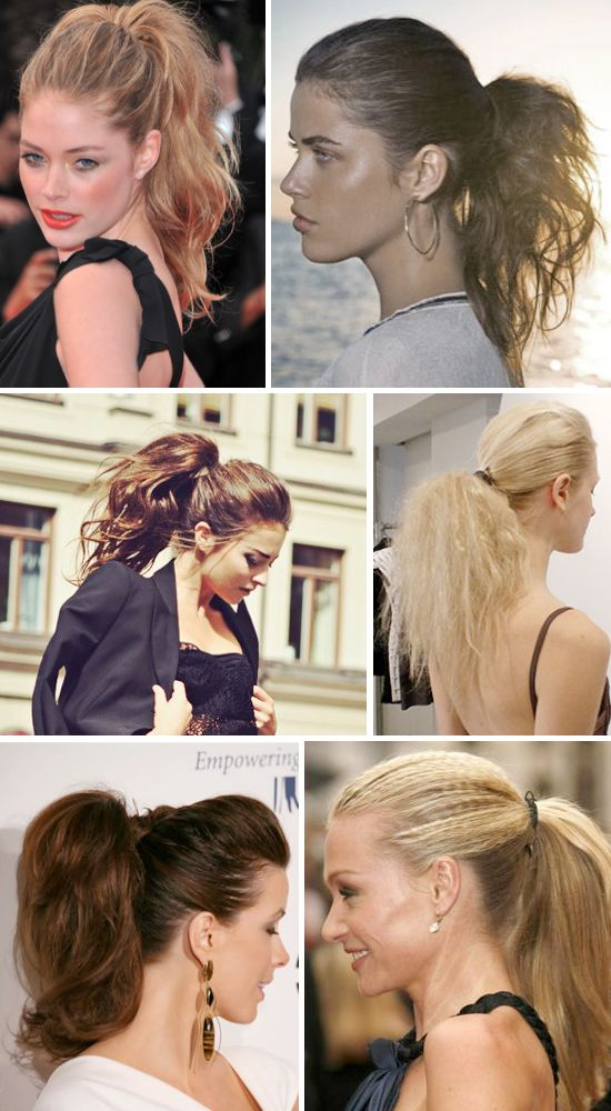 Cute Ponytail Hairstyle Ideas - Wedding Ideas, Wedding Trends, and Wedding Galleries