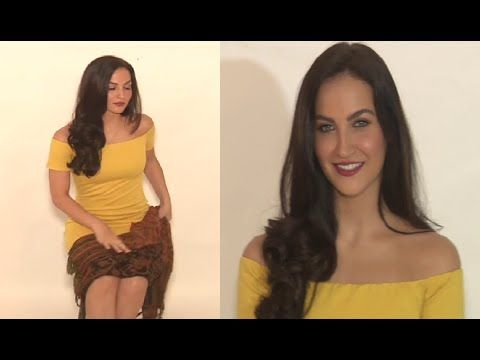 Elli Avram so CONSCIOUS during her photo shoot in short outfit.
