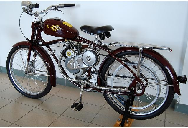vintage whizzer motorcycle