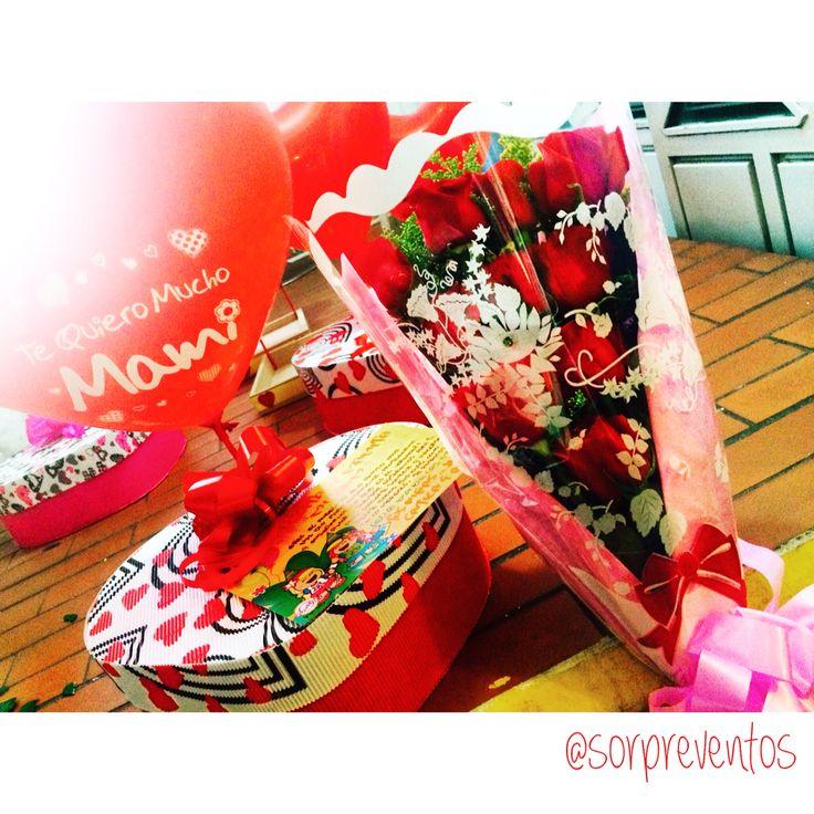 Desayuno Sorpresa con Bouquet de Rosas. Pedidos 3102832233