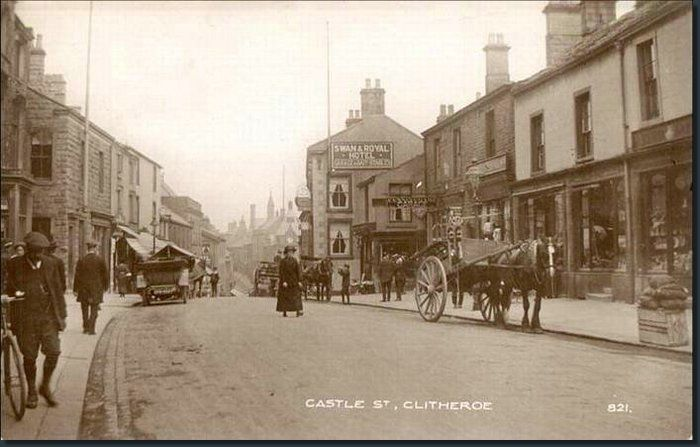 Clitheroe Castle Street, 1917