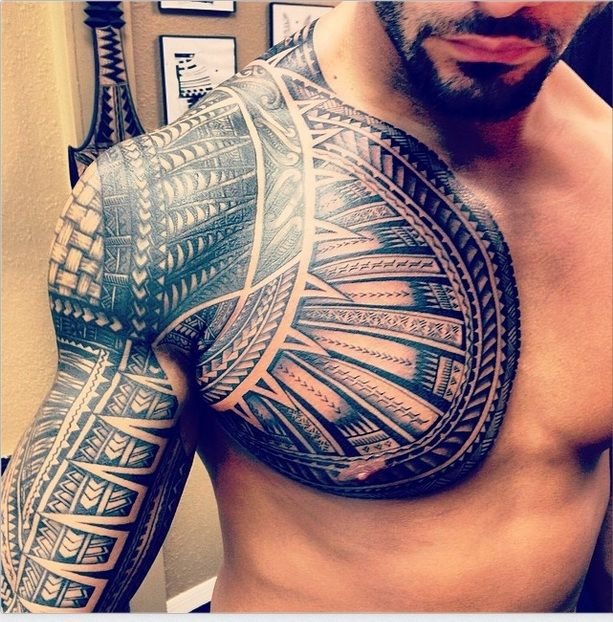40 Chest Tattoo Design Ideas For Men