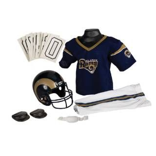 Check out the Franklin Sports 15701F06P1Z NFL Rams Medium Uniform Set