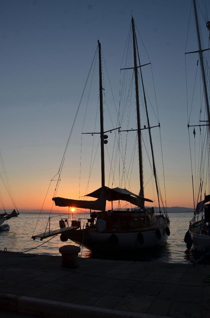 argentario sailing week....in the evening at Porto Santo Stefano, Tuscany