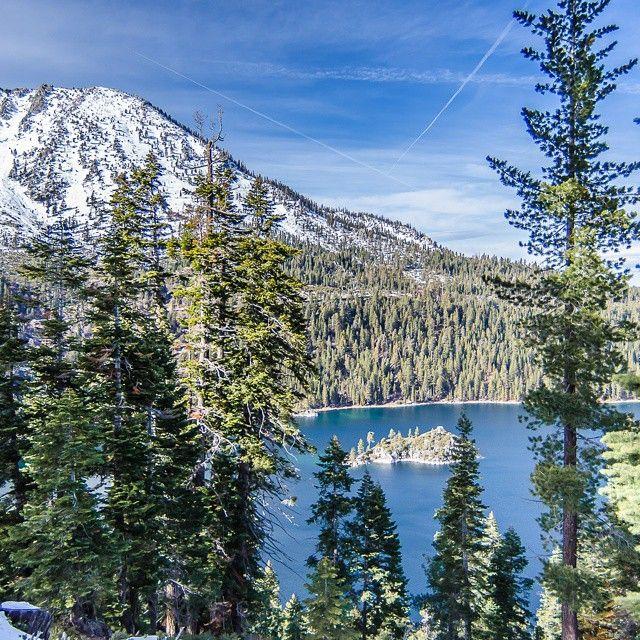 Emerald Bay, Lake Tahoe. Photo courtesy of jcgolfing on Instagram.