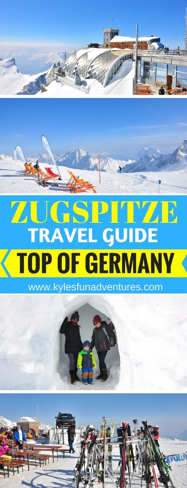 Zugspitze Top of Germany Day trip from Munich Travel Guide