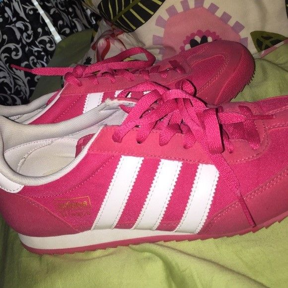 Adidas Shoes Pink Womens Adidas Dragon Shoes Adidas Shoes Sneakers