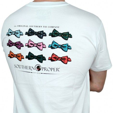 Southern Proper Bow Tie Tee by Southern Proper. In size Small(if mens)/Med (women's). For my Southern Prep obsession ;) -AW