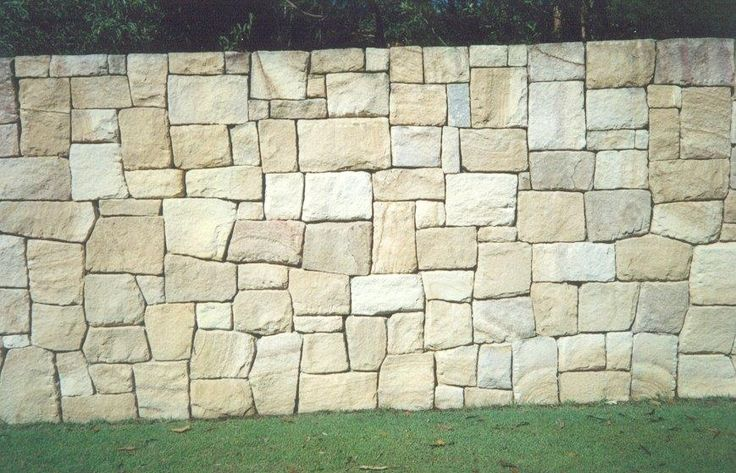 Sandstone Wall