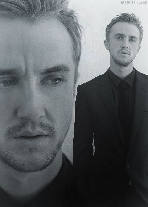"""I've never been crazy about Tom Felton, his whole """"look"""", but the more interviews, etc, I watch, the more I really am - albeit against my will - impressed with how articulate and charismatic he is."""