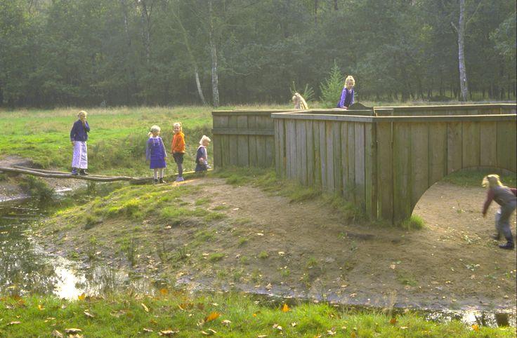 Speelfort boswachterij Staphorst. Ontwerp Cees Bakker