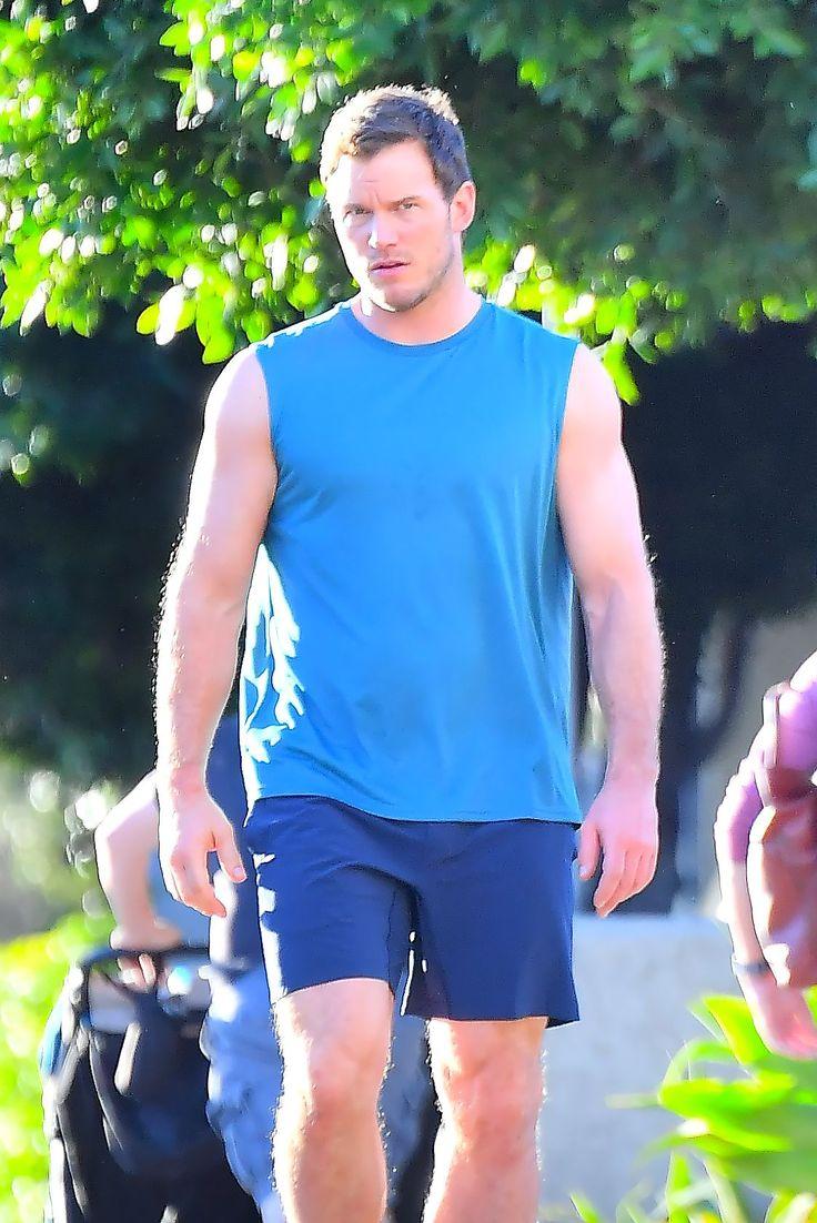 Chris Pratt. January 14 2018. Secret Set in Los Angeles, California.