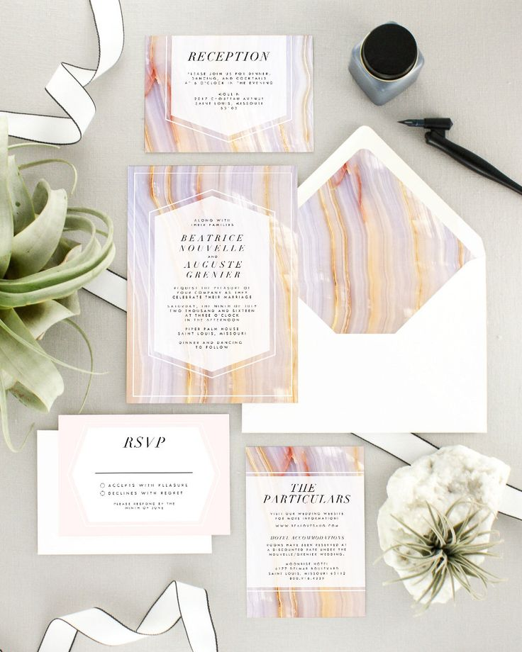 Excited to share the this gorgeous suite from my #etsy shop: Boho Wedding Invitations Printed - Geode Wedding Invitation Suite - Bohemian Wedding Invitation Set - Blush Wedding Invite - Set of 10