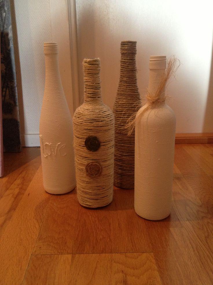 Wine bottles diy