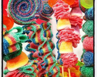 Party Favors Candy Kabob Skewers Sticks от HollywoodCandyGirls