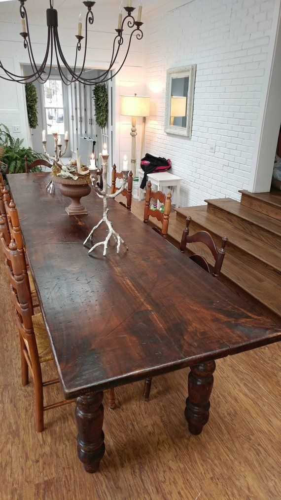Dining Room Table Etsy Large Dining Room Table Long Dining Room Tables Unique Dining Room Table