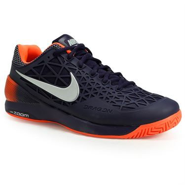Nike Zoom Cage 2 Mens Tennis Shoe is made with a commitment to ultimate  durability with