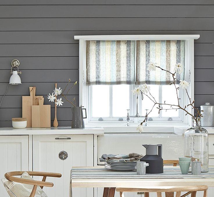 Swedish blind in Scandi-Cool fabric