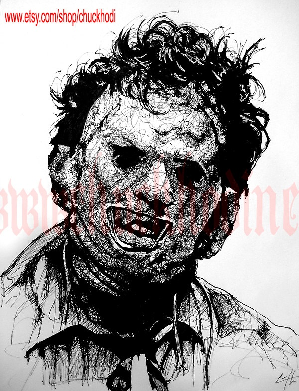 Reserved for themakeupvixen - Leatherface - Original ...