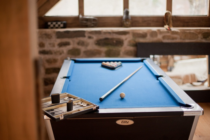 Challenge you to a game of pool at Red Kite Barn!    Luxury unique holiday cottage in Wales – contemporary property in secluded, private location near Builth Wells, Wales UK. sleeps 6.