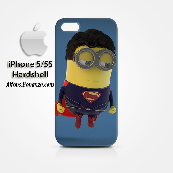 Man of Steel Minions Superman iPhone 5 5s Hardshell Case