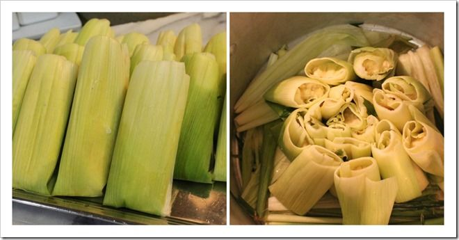 Tamales de Elote recipe with an excellent step by step guide.