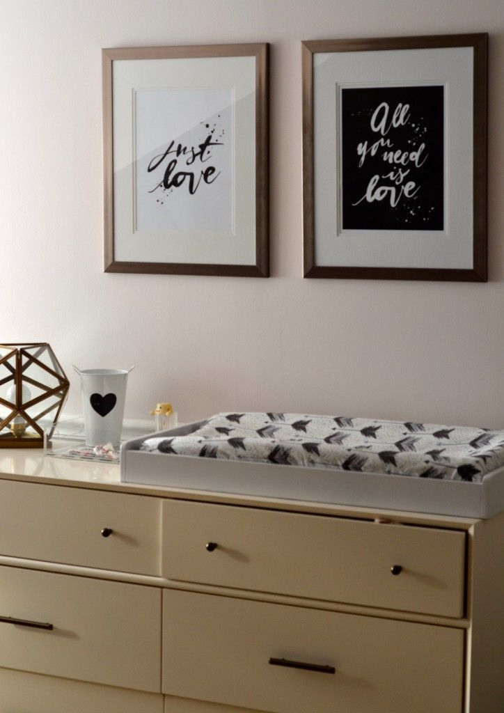 Mid-Century 6-Drawer Dresser (as a changing table) from west elm