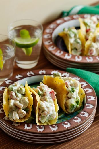 Creamy Keto Shrimp Tacos