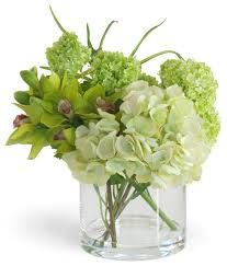 tropical floral arrangements in white and green - Google Search