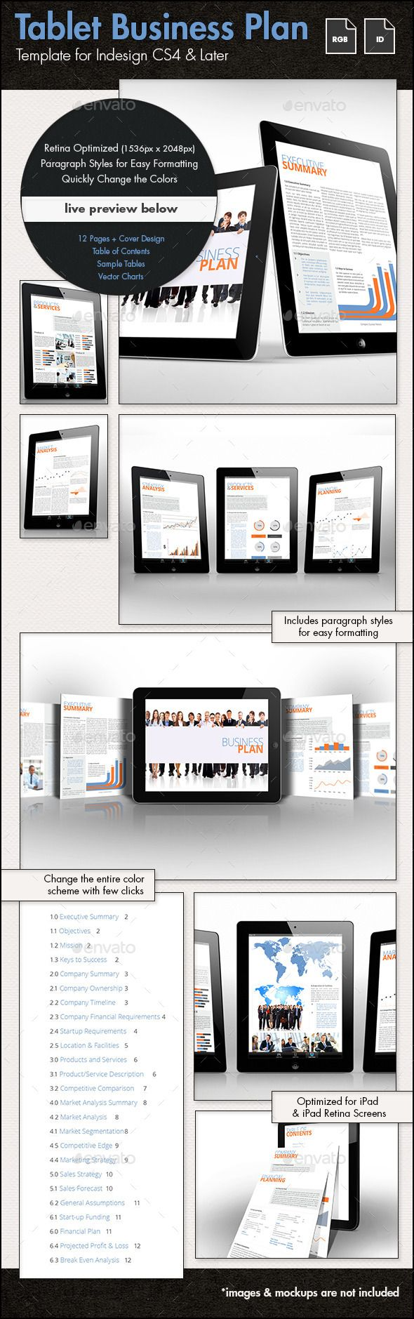 The Best Business Plan Presentation Ideas On Pinterest - Business plan template design