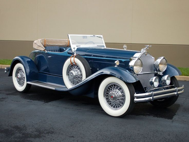 1931 8th Series Packard Boat-tail Speedster
