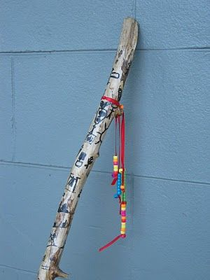 Story Stick..I am so doing this for our next cub scout hike!