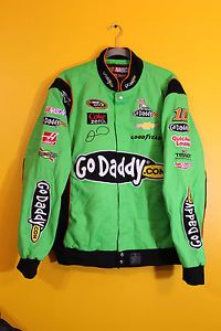 The NASCAR jacket by CHASE features:Heavy weight twill cotton jacket. Description from ebay.com. I searched for this on bing.com/images