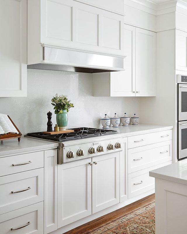 White Ceasarstone Quartz Kitchen Centered By Design White
