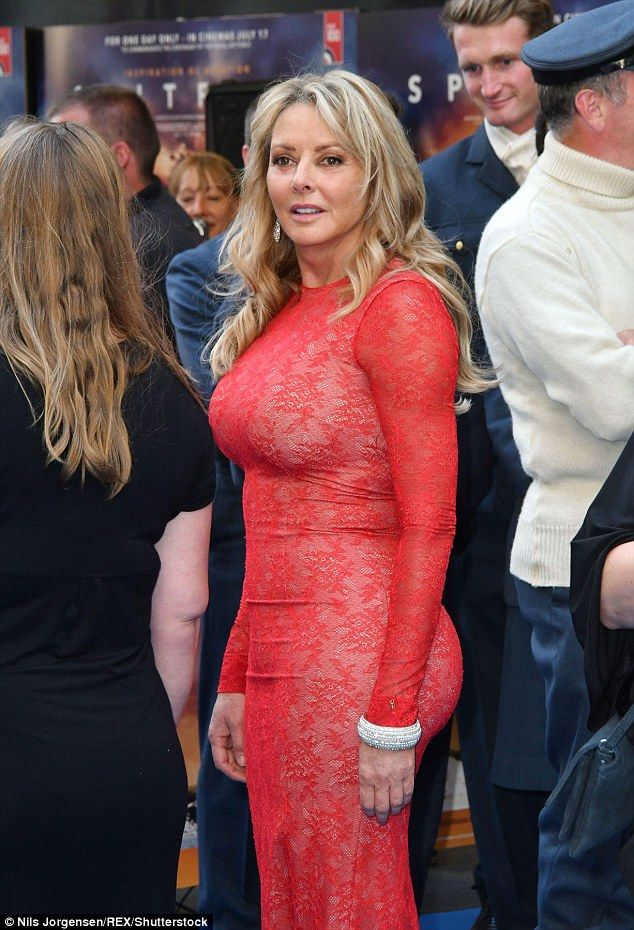 Carol Vorderman, 57, flaunts her hour glass curves in a ...